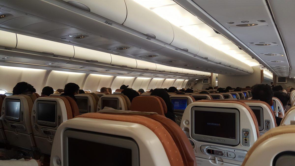 Economy seats.