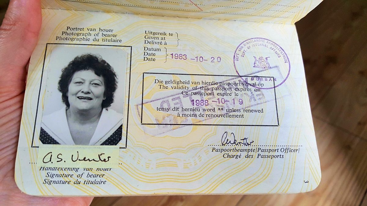When she saw her passport photo, she didn't know whether to laugh or cry 53
