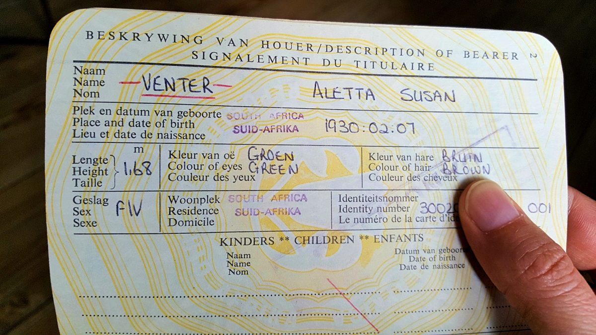 Tracing My Family S Travel History Through Old Passports