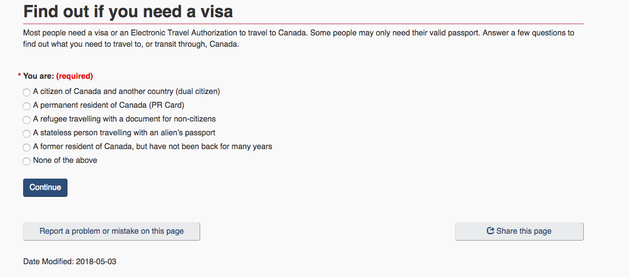 Applying For A Canadian Transit Visa In The Netherlands Sightseeing Scientist