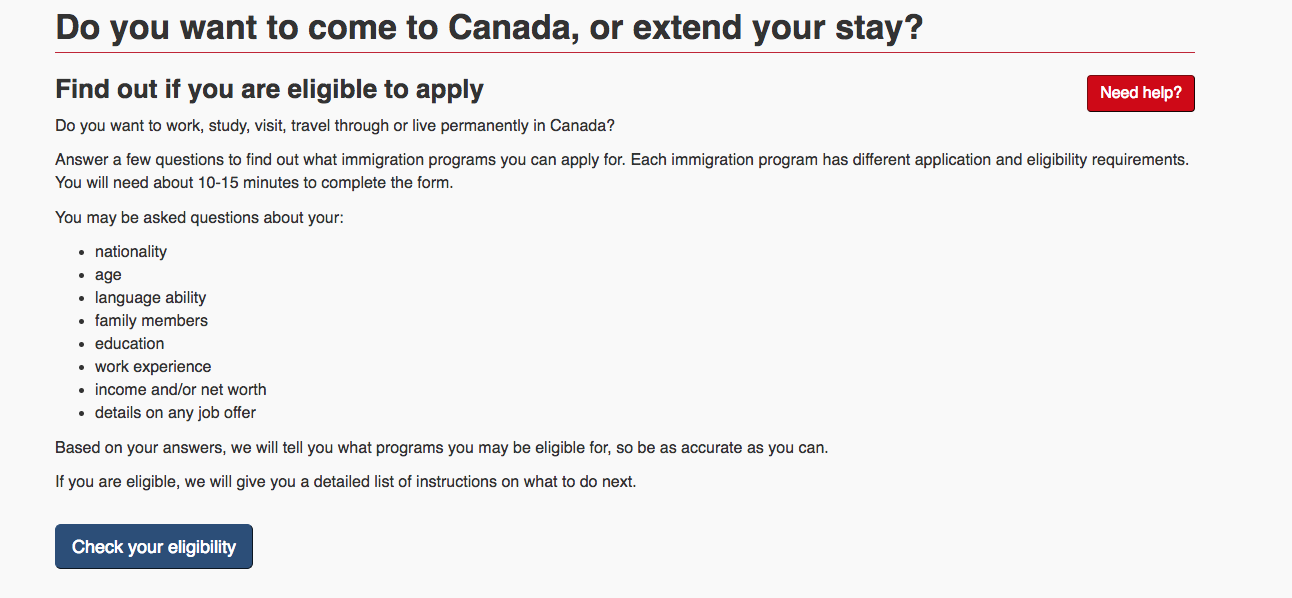 Applying for a Canadian Transit Visa in The Netherlands
