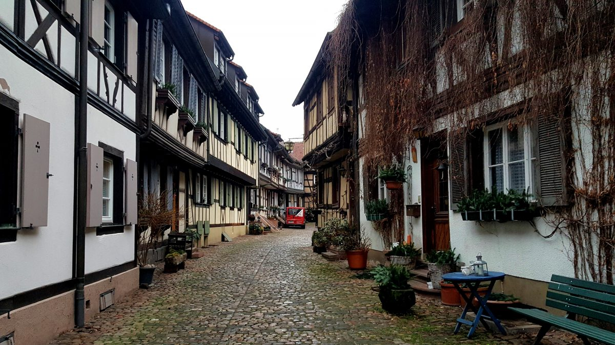 Charming streets of Gengenbach.