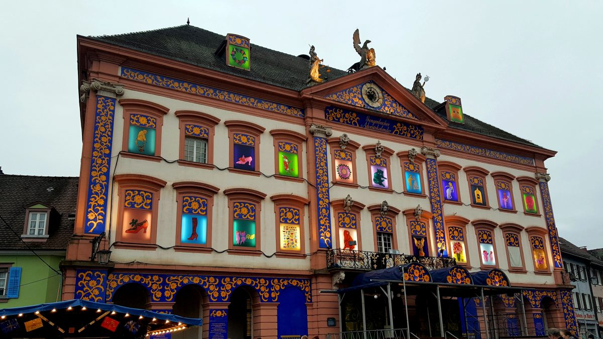 The Gengenbach advent calender in the biggest in the world.