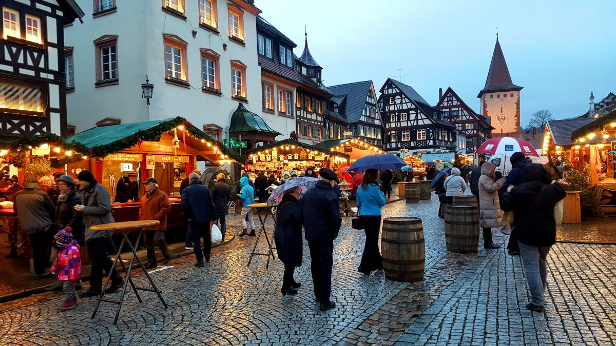 The Gengenbach Christmas market.