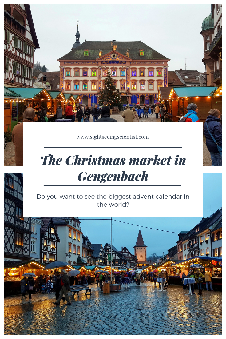 Gengenbach Christmas market pin.