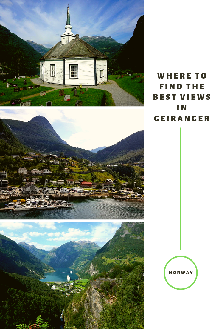 Best views in Geiranger pin
