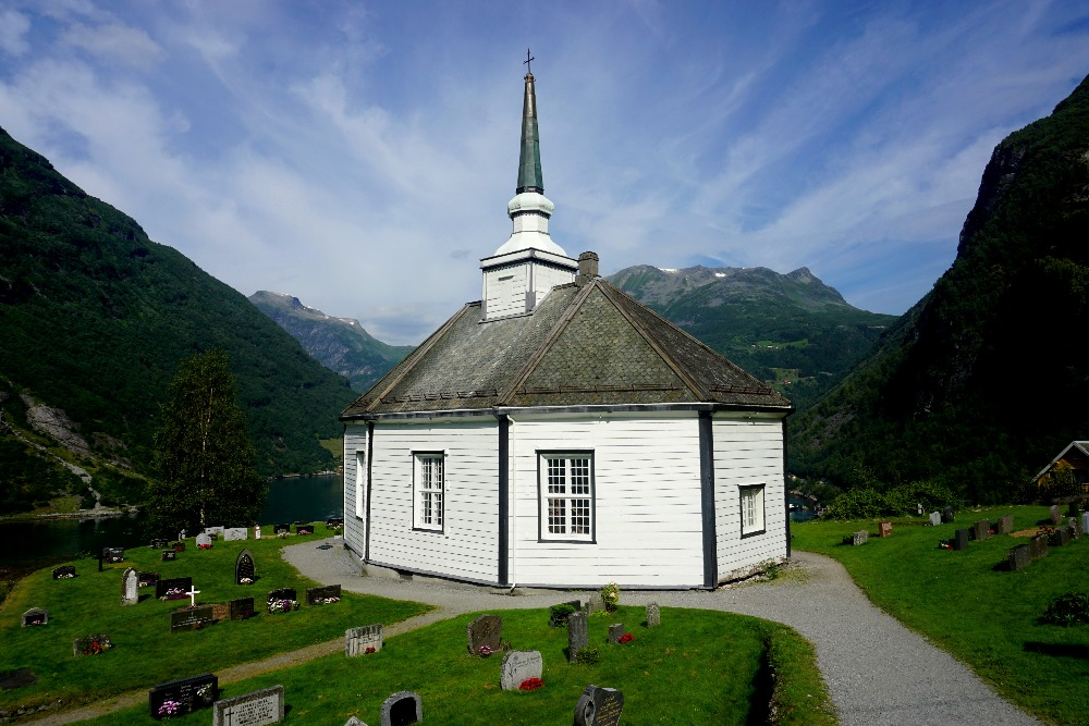 The Geiranger Church.