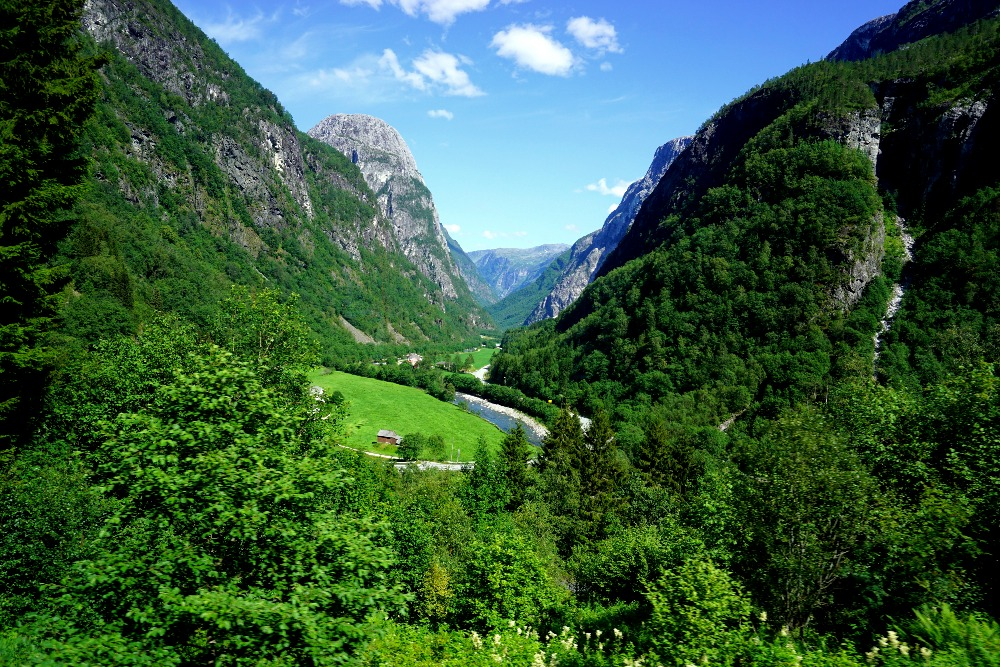 Naeroy Valley, Norway.