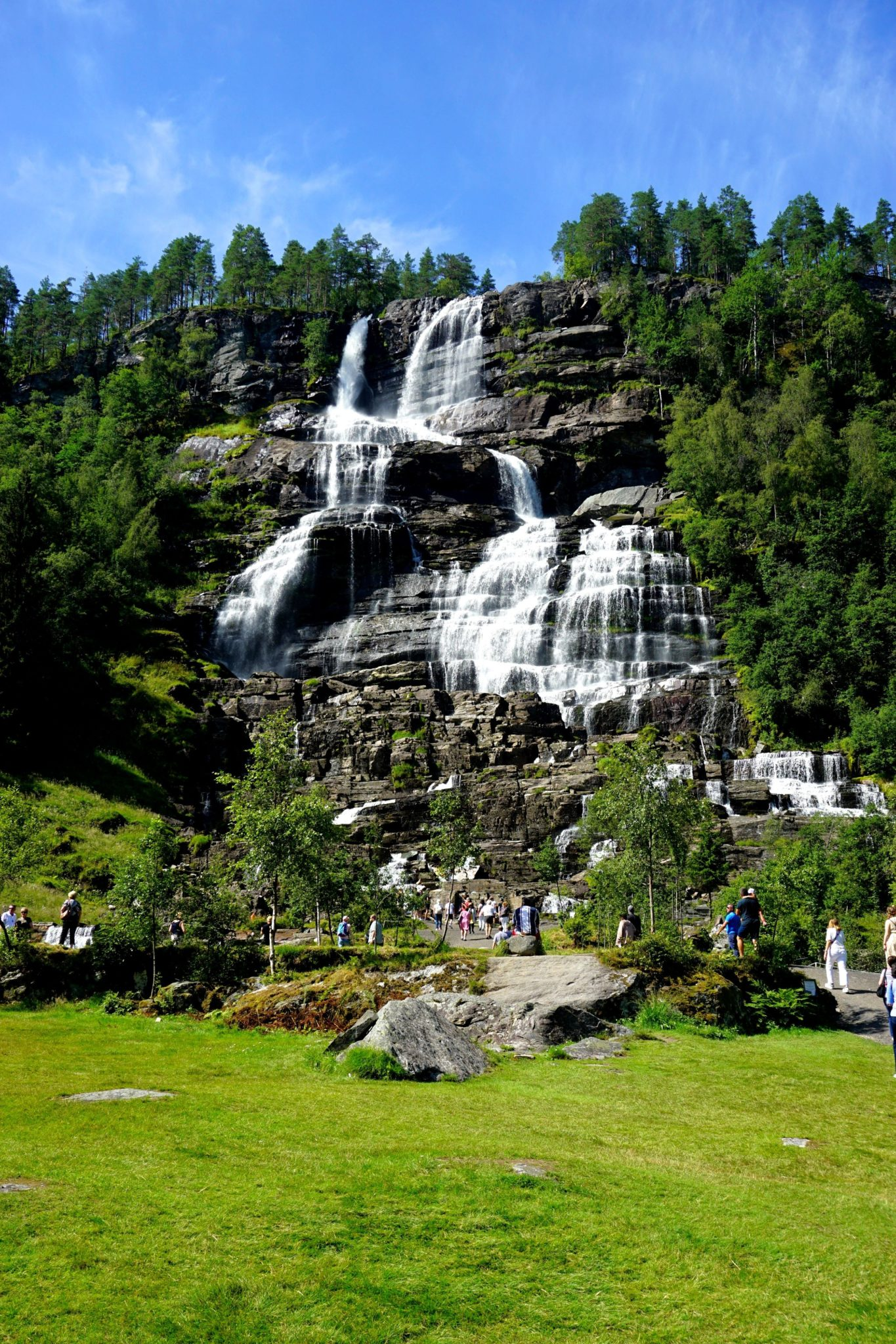 The Tvindefossen in Norway.